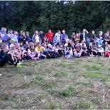 Лагерь волонтёров