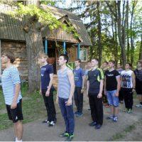 Учебные сборы старшеклассников по основам военной службы