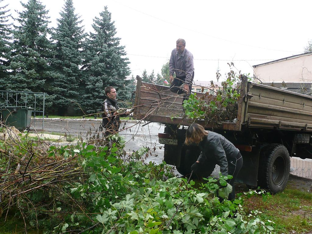 Всероссийский экологический субботник — «Зеленая Россия».