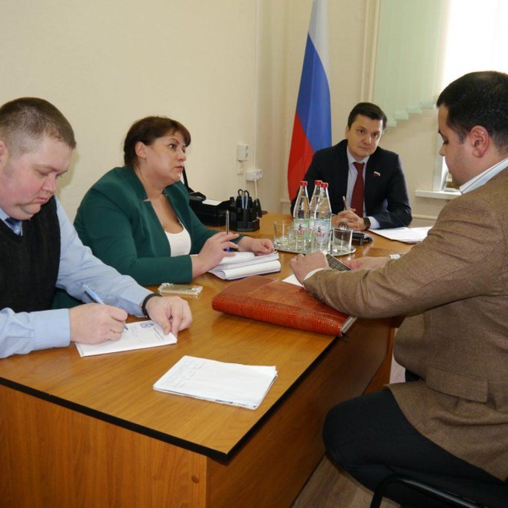 Депутат Москвин в Лукояновском Районе